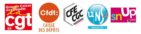 logos cgt cfdt cfecgc unsa snup