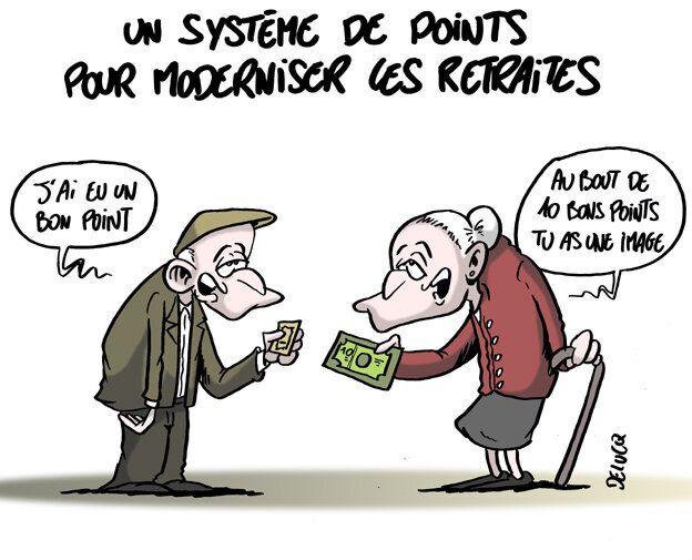 retraite a points